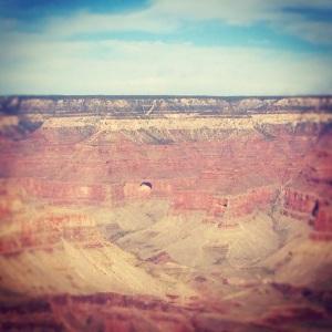 Grand Canyon heart